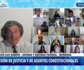 Ramón quiere que los fiscales y jueces sean elegidos por el pueblo