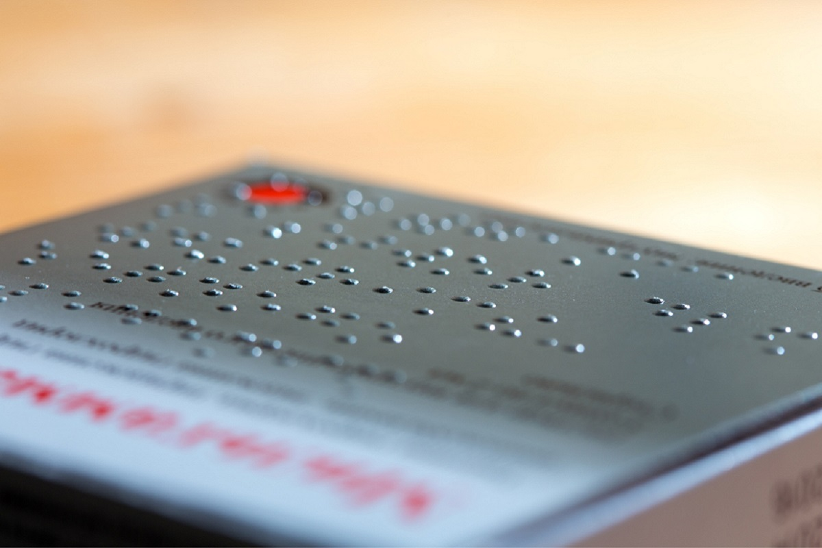 medicamentos con sistema braille