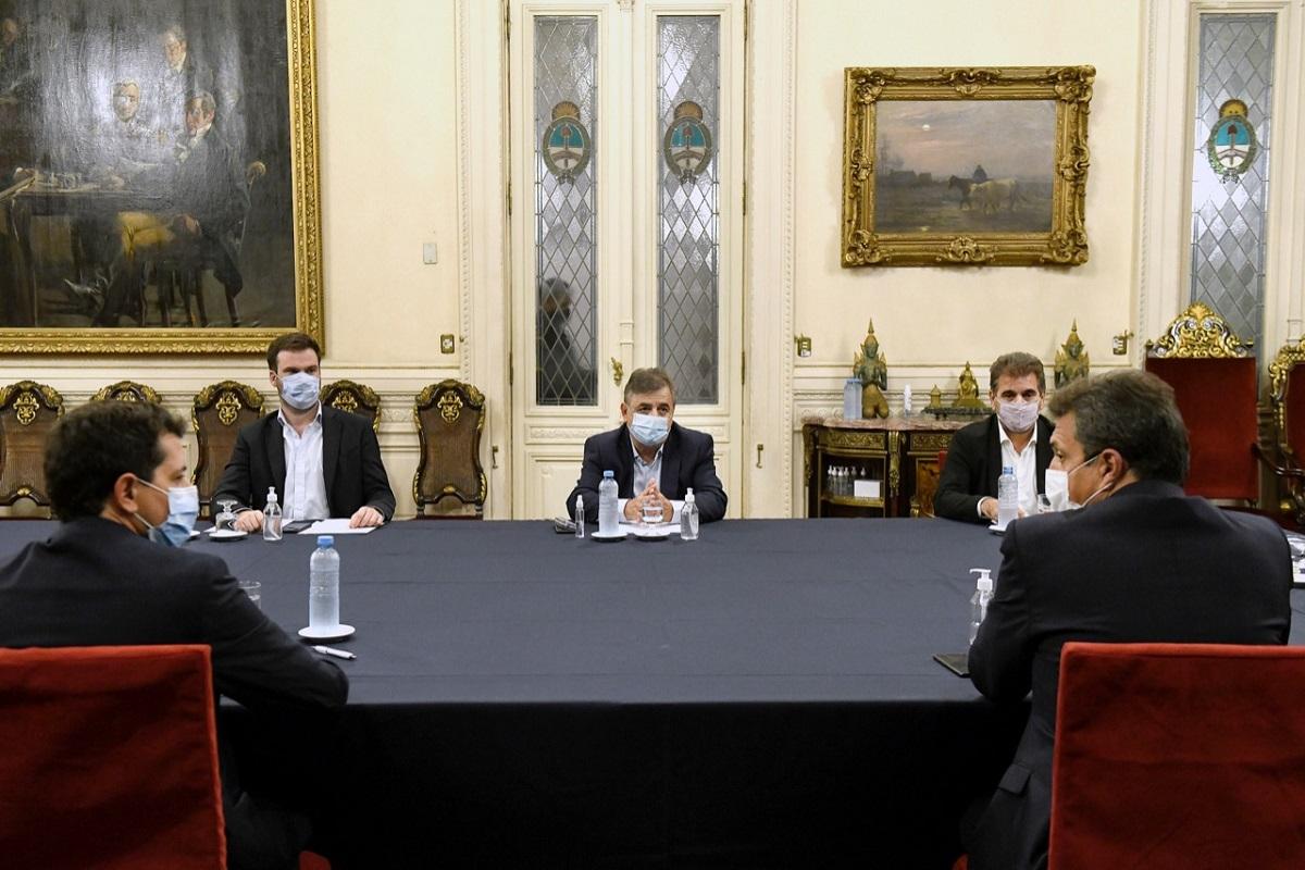 reunion wado de pedro juntos por el cambio elecciones paso