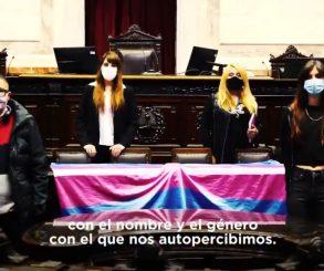 Diputados celebró un nuevo aniversario de la Ley de Identidad de Género