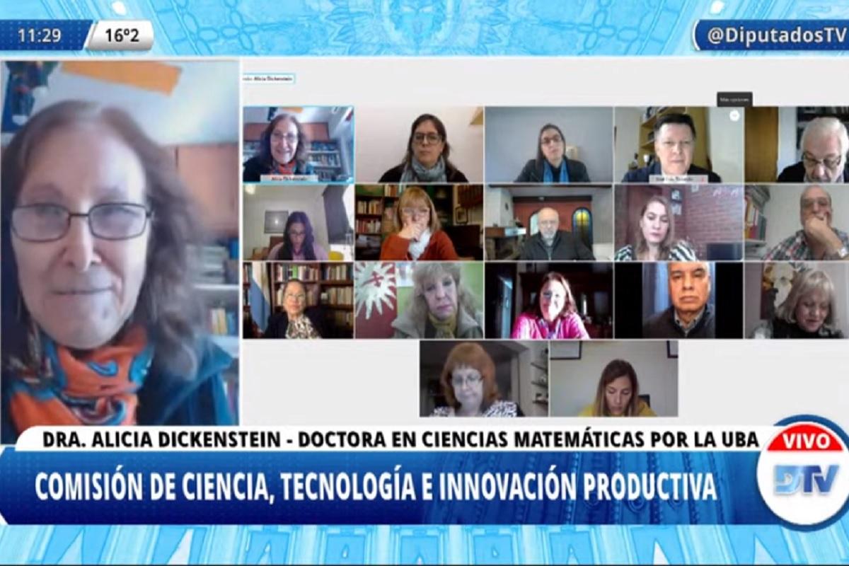 En la Comisión de Ciencia, Tecnología e Innovación Productiva, los legisladores dictaminaron proyectos de declaración y recibieron a los homenajeados.