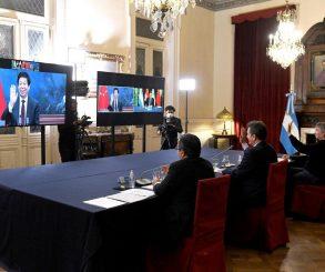 Fuerte respaldo del Parlamento chino a la Argentina por la negociación con el FMI
