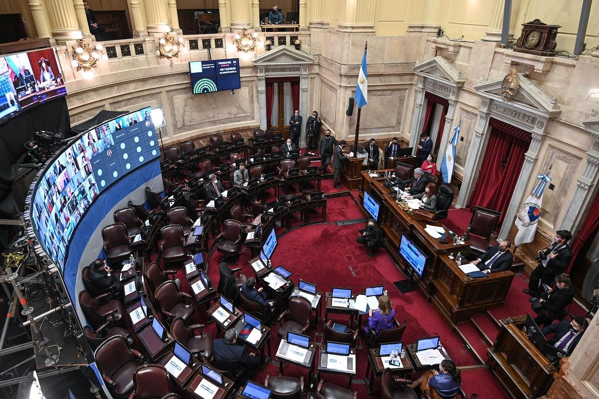 recinto senado sesion 24 junio 2020