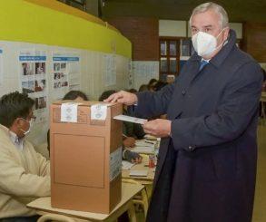 Gerardo Morales hace jugar a sus ministros en esta elección