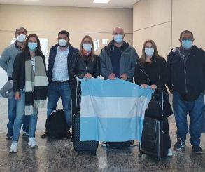 Una delegación argentina negocia vacunas en Emiratos Arabes