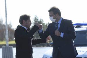 """Massa: """"Me apena ver a la oposición peleándose por cargos. Hoy la pelea es vacunas, trabajo y seguridad"""""""