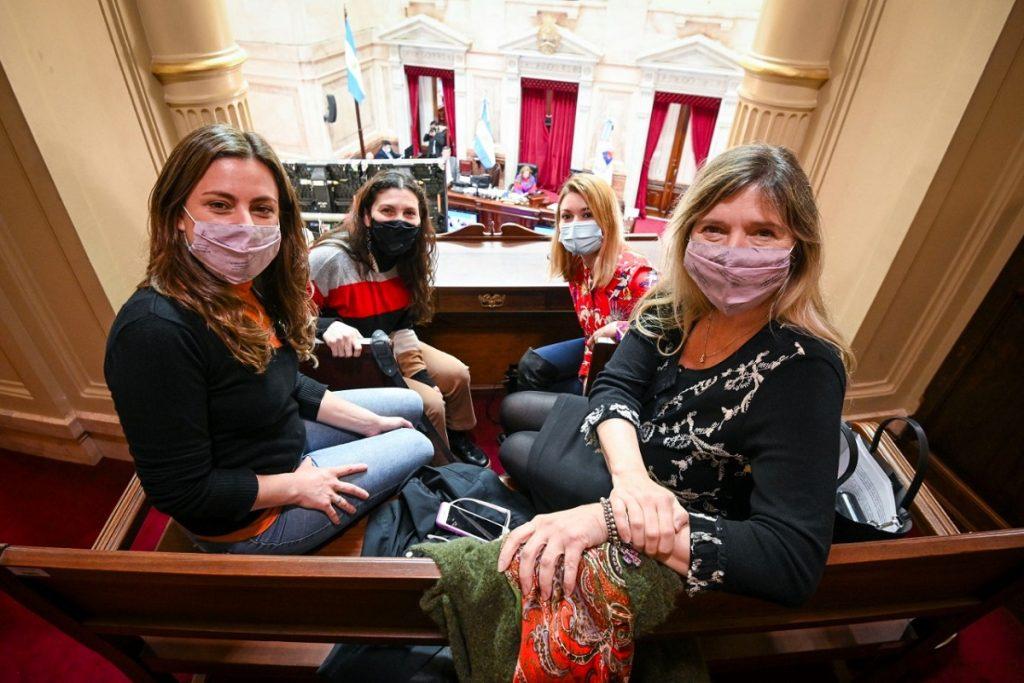 diputadas frente de todos sancion ley cupo trans senado