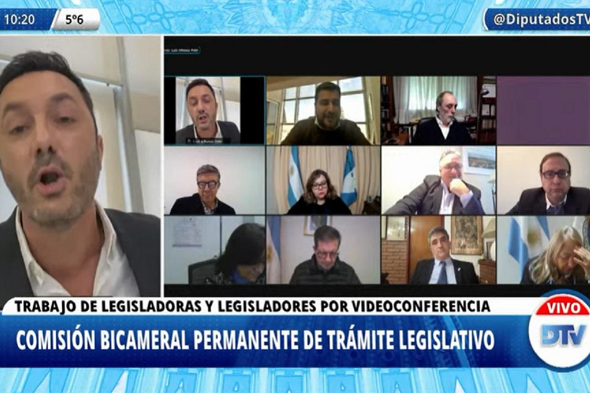 luis petri marcos cleri bicameral tramite legislativo 30 junio 2021