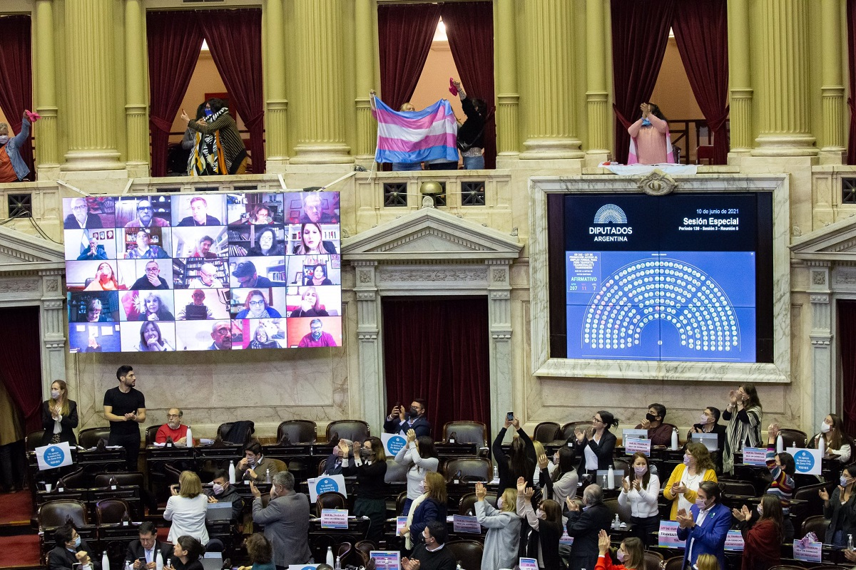 votacion cupo trans sesion diputados 10 junio 2021