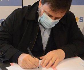Santoro y Marziotta encabezan la lista del FdT para diputados nacionales