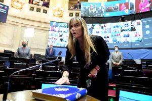 Juliana Di Tullio juró como senadora nacional