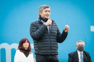 Máximo Kirchner cuestionó el papel de la oposición en el Congreso