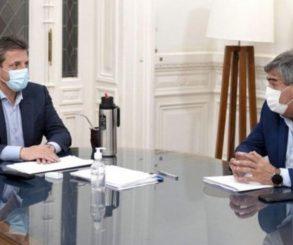 Massa analizó con el titular de la ENACOM avances en la red de conectividad