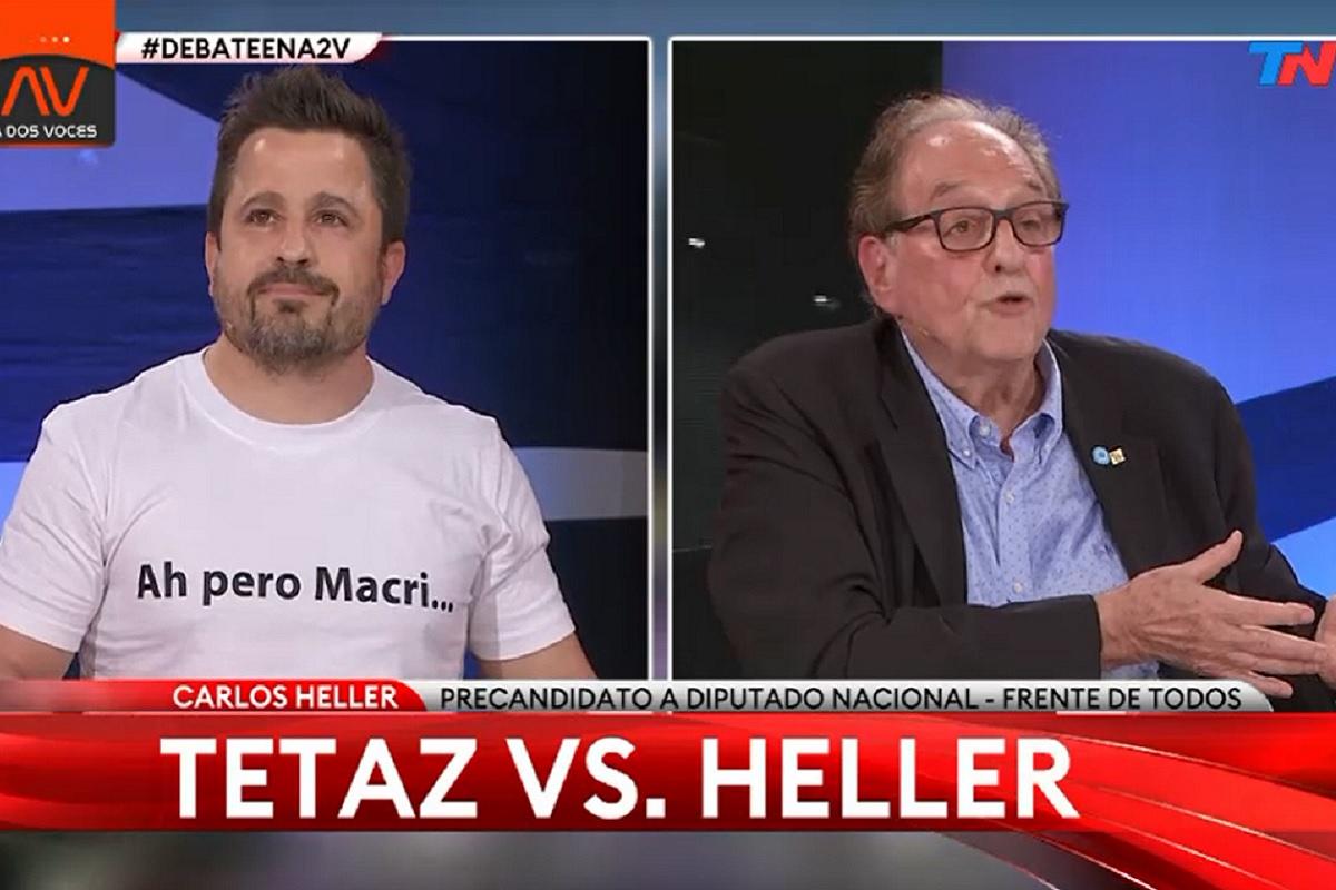debate tn carlos heller martiz tetaz