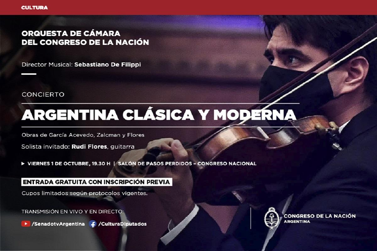 evento orquesta clasica y moderna congreso
