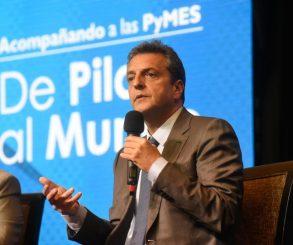 Massa insistió con el acuerdo entre empresarios, trabajadores, Gobierno y oposición