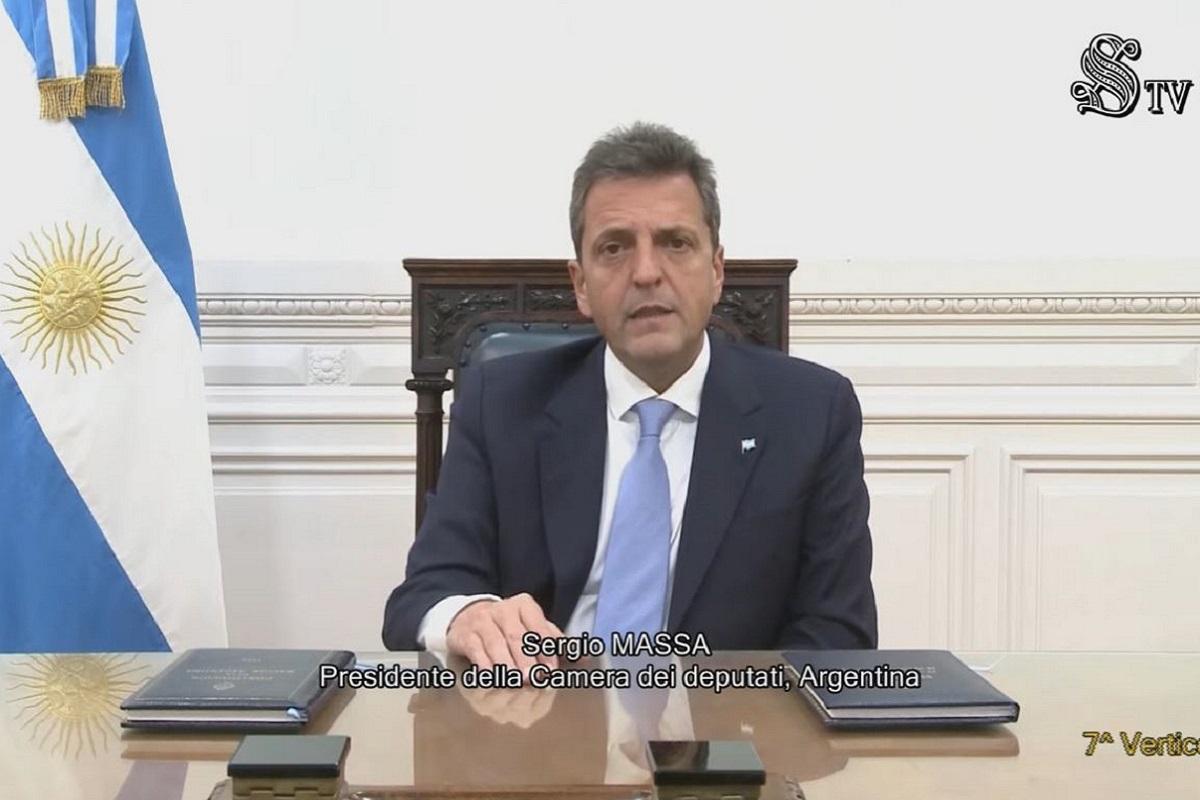sergio massa cumbre lideres parlamentarios g20